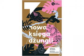 Plakat Nowa ksiêga d¿ungli