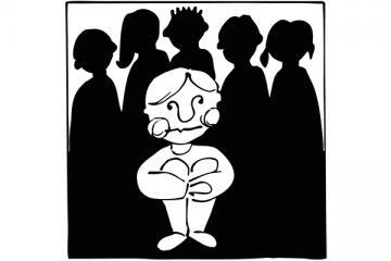 Logo: Na marginesie - jak przeciwdziałać wykluczeniu i prześladowaniu w klasie i grupie