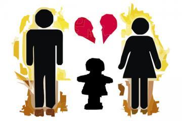 Logo: Dziecko w sytuacji rozwodu rodziców