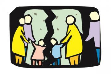 Logo: Dziecko w rodzinie zrekonstruowanej