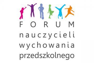"""Logo: III Forum nauczycieli wychowania przedszkolnego """"Od przedszkolaka do twórcy"""""""