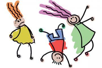 Logo: Dziecko z trudnościami w przedszkolu