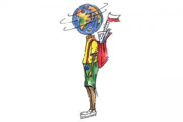 Logo: Jak uczyæ i wspieraæ uczniów z do¶wiadczeniem migracji