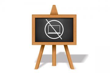 Logo: Bez komputera też można uczyć ciekawie i efektywnie