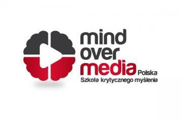 Logo: Mind over media. Szko³a krytycznego my¶lenia