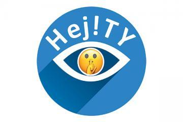 Logo: Hej!TY - powiedz nie. Debata o zagrożeniach cywilizacyjnych