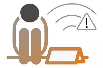 Logo: Nieobecne dzieci