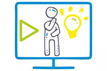 """Logo: Tablice zdalne, tablice interaktywne - pomysły, porady i inspiracje na multimedialne lekcje """"online"""""""