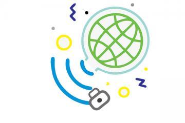 Logo: Dzień Bezpiecznego Internetu 2021 - szanse i zagrożenia świata wirtualnego