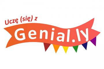 Logo: Uczę (się) z Genial.ly - projektujemy pokój zagadek