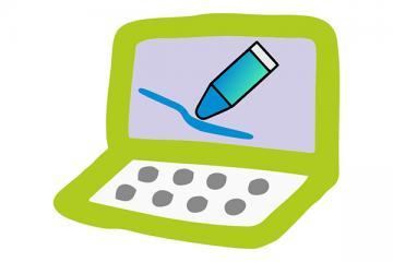 Logo: Genial.ly - prezentacje multimedialne jako forma przekazu informacji