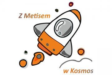 Logo: Z Metisem w Kosmos. Przystanek projektowanie