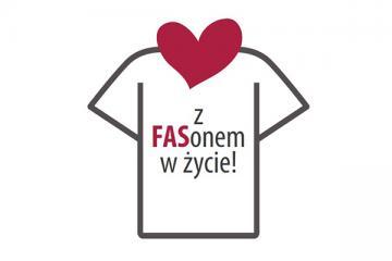 Logo: Z FASonem w życie - dziecko z FASD w wieku przedszkolnym