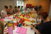 Z rolowanej bibuły - działania twórcze wspierające rozwój kreatywności dziecka