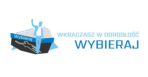 Logo Wkraczasz wdorosłość– Wybieraj!