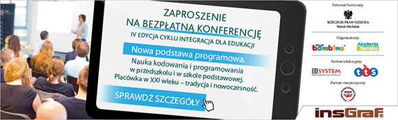 Integracja dla edukacji– konferencja Moje bambino