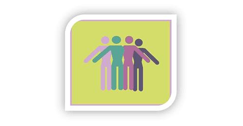 Logo: Psychologiczna grupa wsparcia...