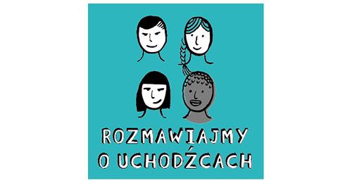 Logo projektu Rozmawiajmy ouchodźcach