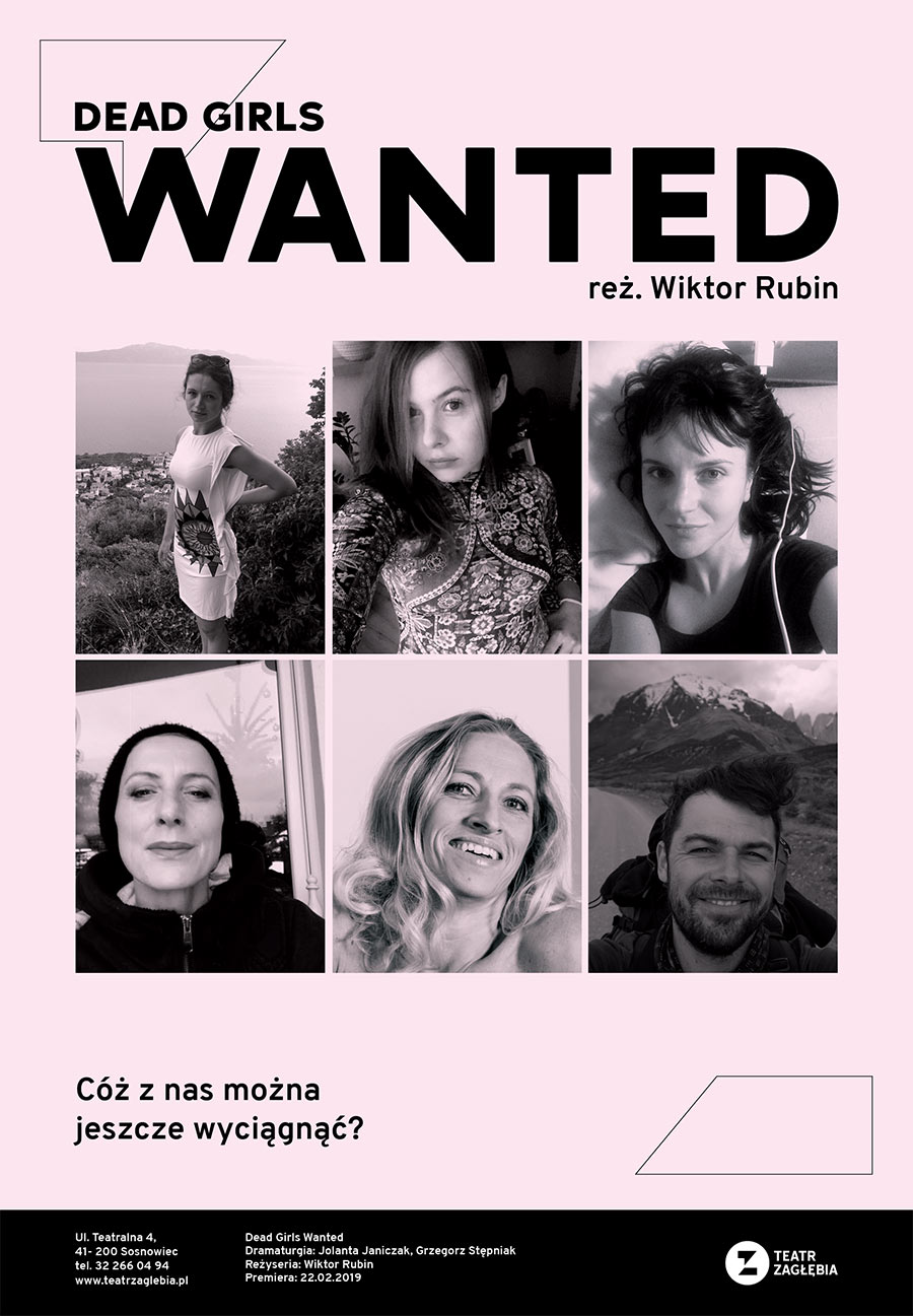 Plakat Dead Girls Wanted